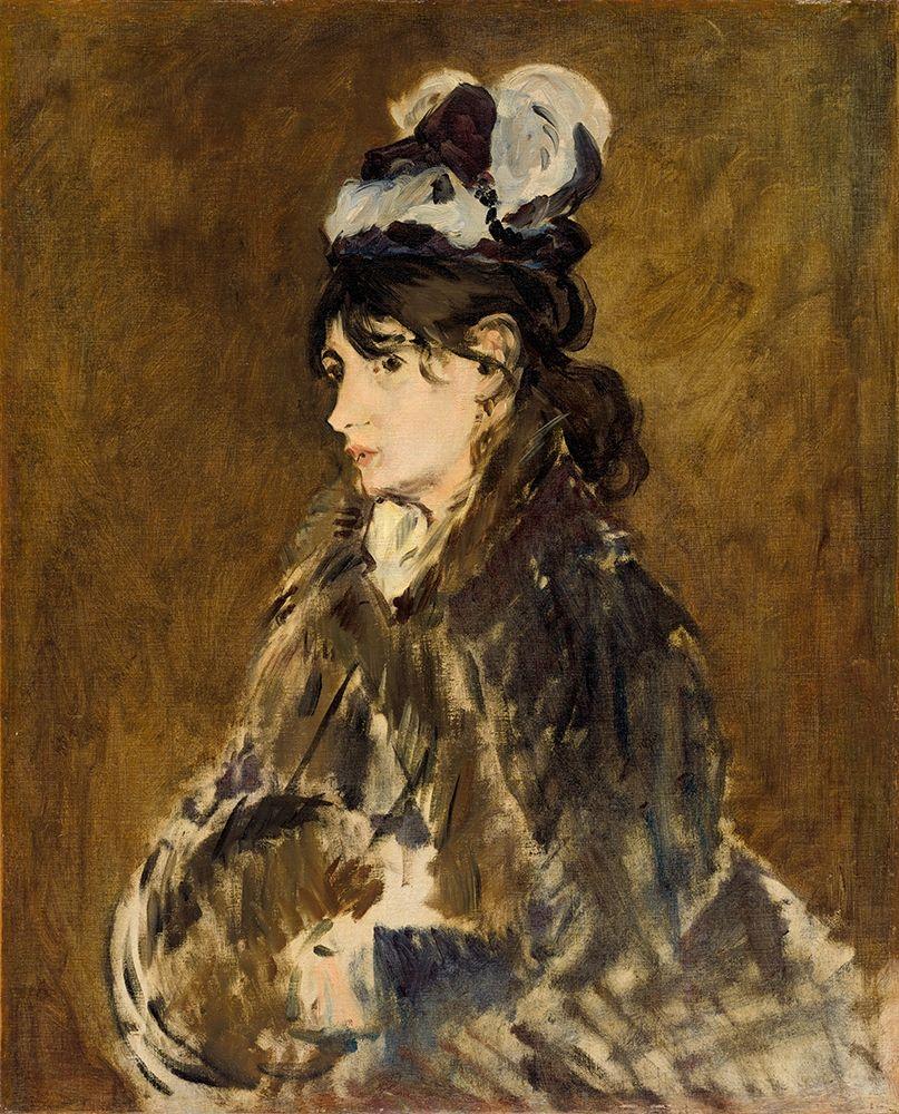 konfigurieren des Kunstdrucks in Wunschgröße Berthe Morisot von Manet, Edouard