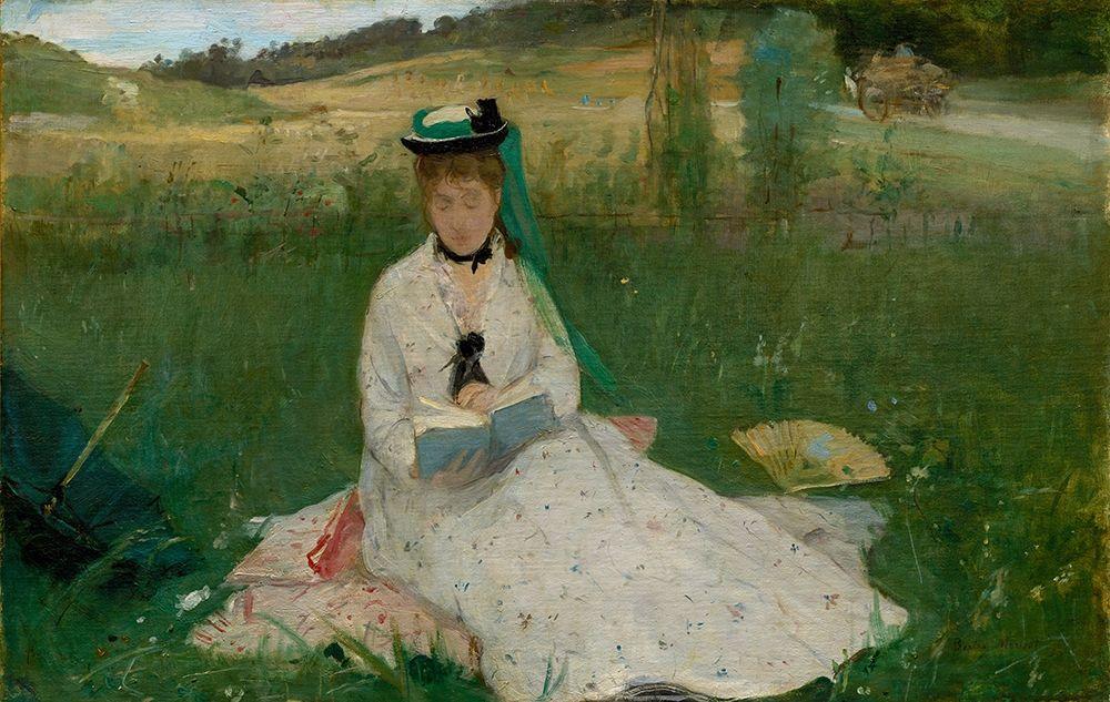 konfigurieren des Kunstdrucks in Wunschgröße Reading von Morisot, Berthe