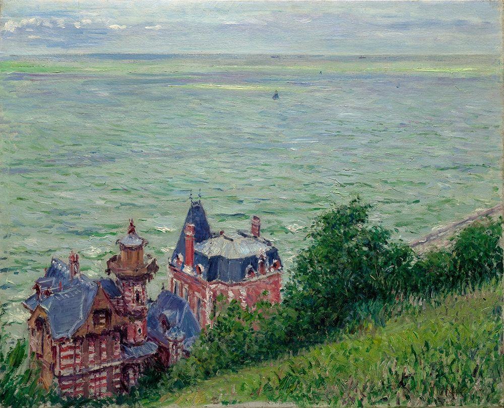 konfigurieren des Kunstdrucks in Wunschgröße Villas at Trouville von Caillebotte, Gustave