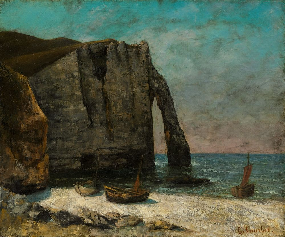 Courbet, After Gustave