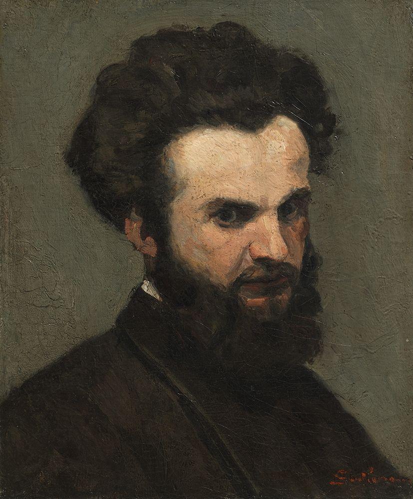 konfigurieren des Kunstdrucks in Wunschgröße Self-Portrait von Guillaumin, Armand