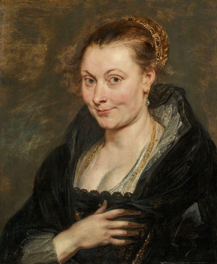 konfigurieren des Kunstdrucks in Wunschgröße Portrait of Isabella Brant von Rubens, Peter Paul