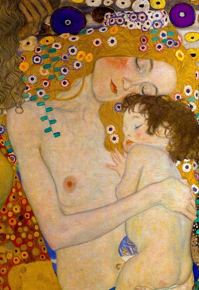 konfigurieren des Kunstdrucks in Wunschgröße Die Drei Lebensalter von Klimt, Gustav