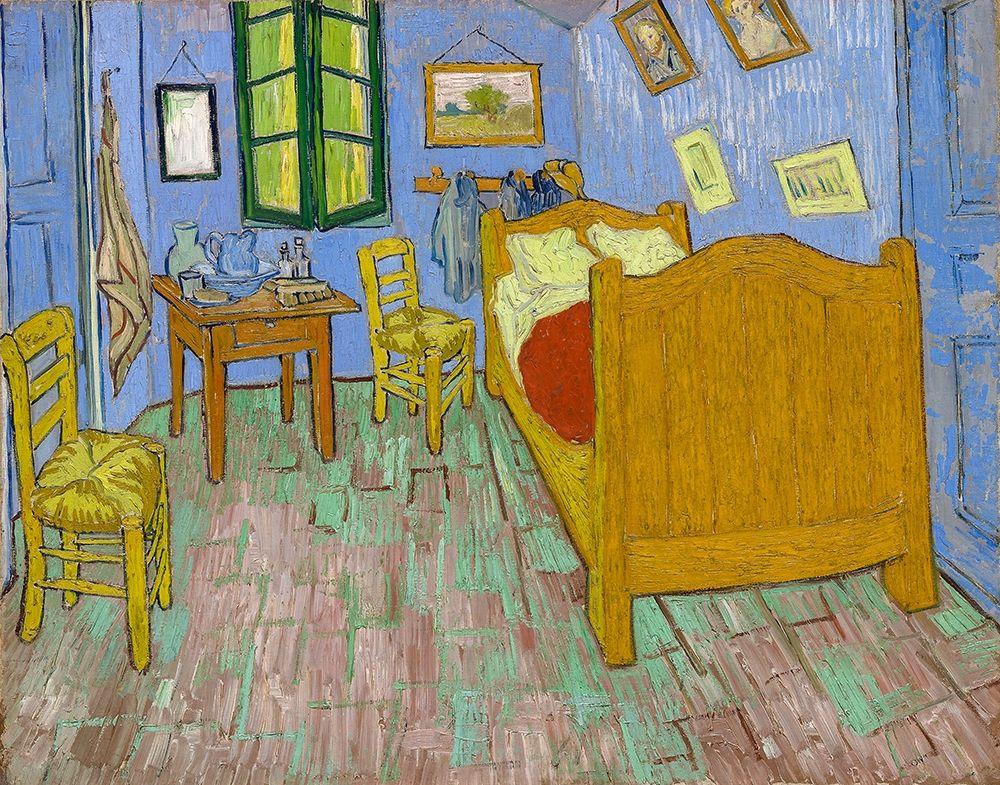 konfigurieren des Kunstdrucks in Wunschgröße The Bedroom 1889 von Van Gogh, Vincent