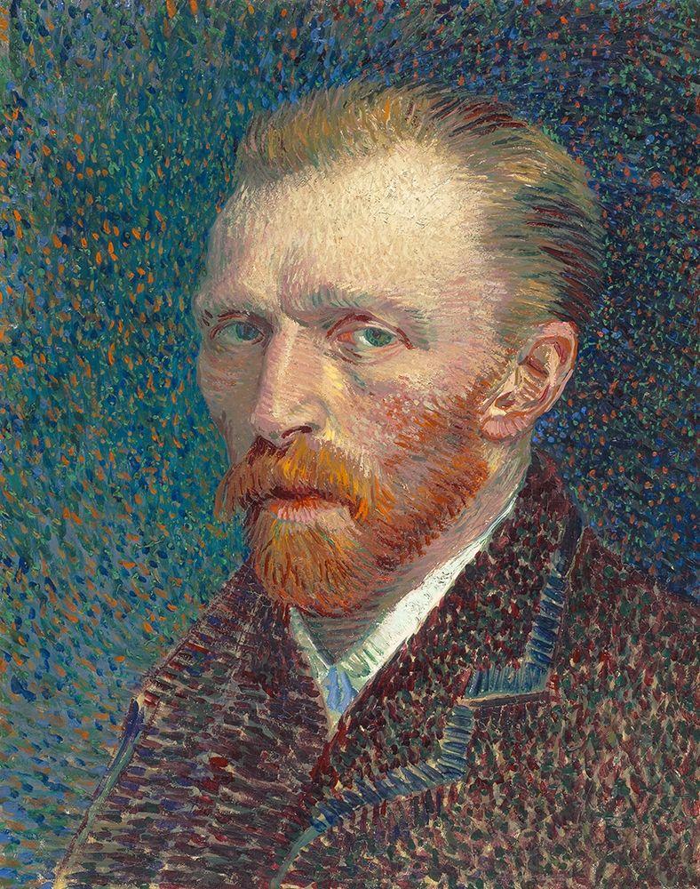 konfigurieren des Kunstdrucks in Wunschgröße Self-Portrait 1887 von Van Gogh, Vincent