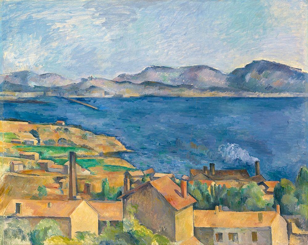 konfigurieren des Kunstdrucks in Wunschgröße The Bay of Marseille, Seen from LEstaque 1885 von Cezanne, Paul