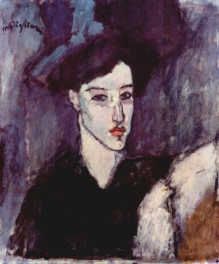 konfigurieren des Kunstdrucks in Wunschgröße Seated figure von Modigliani, Amedeo