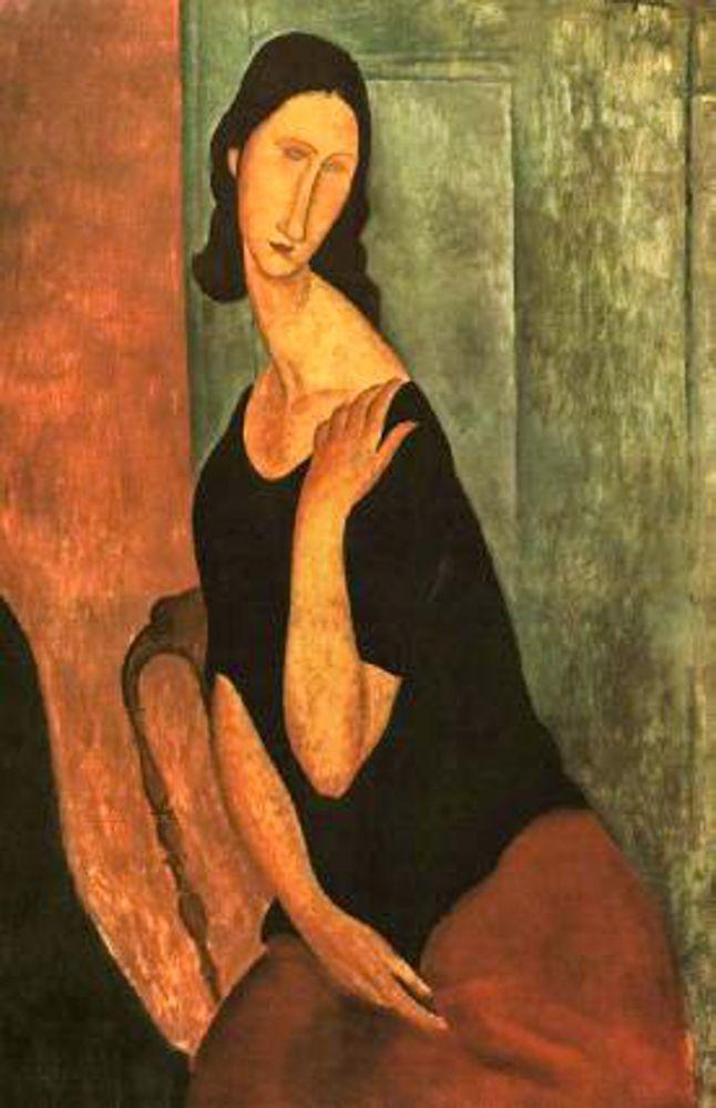 konfigurieren des Kunstdrucks in Wunschgröße Jeanne 4 von Modigliani, Amedeo