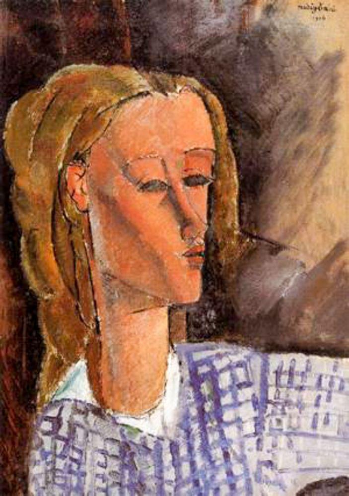 konfigurieren des Kunstdrucks in Wunschgröße Portrait of Beatrice Hastings, 1916 von Modigliani, Amedeo