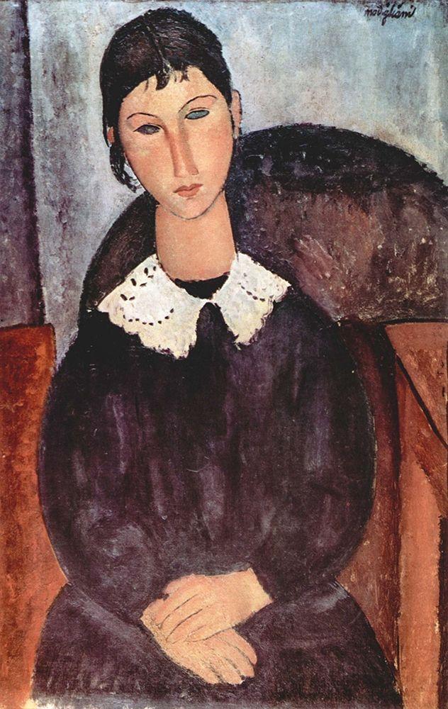 konfigurieren des Kunstdrucks in Wunschgröße Portrait of Elvira von Modigliani, Amedeo