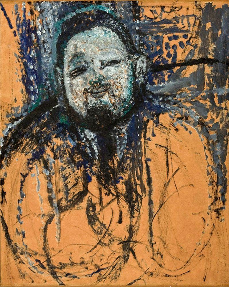 konfigurieren des Kunstdrucks in Wunschgröße Portrait of Diego Rivera, 1916 von Modigliani, Amedeo