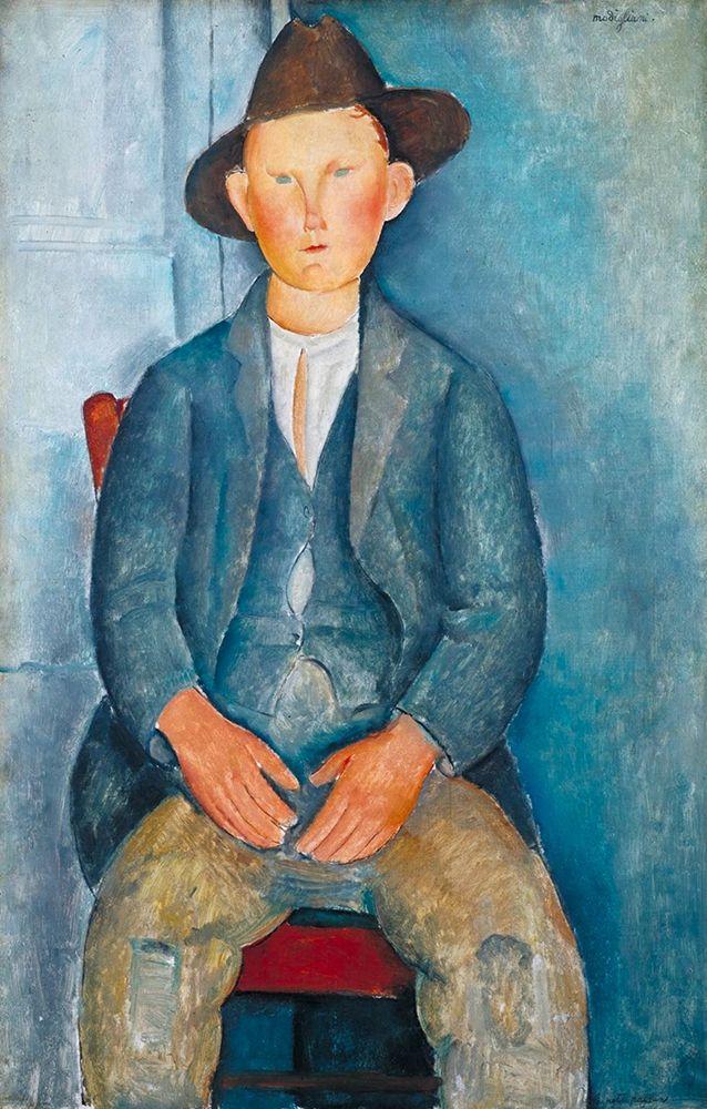 konfigurieren des Kunstdrucks in Wunschgröße The Little Peasant, 1918 von Modigliani, Amedeo