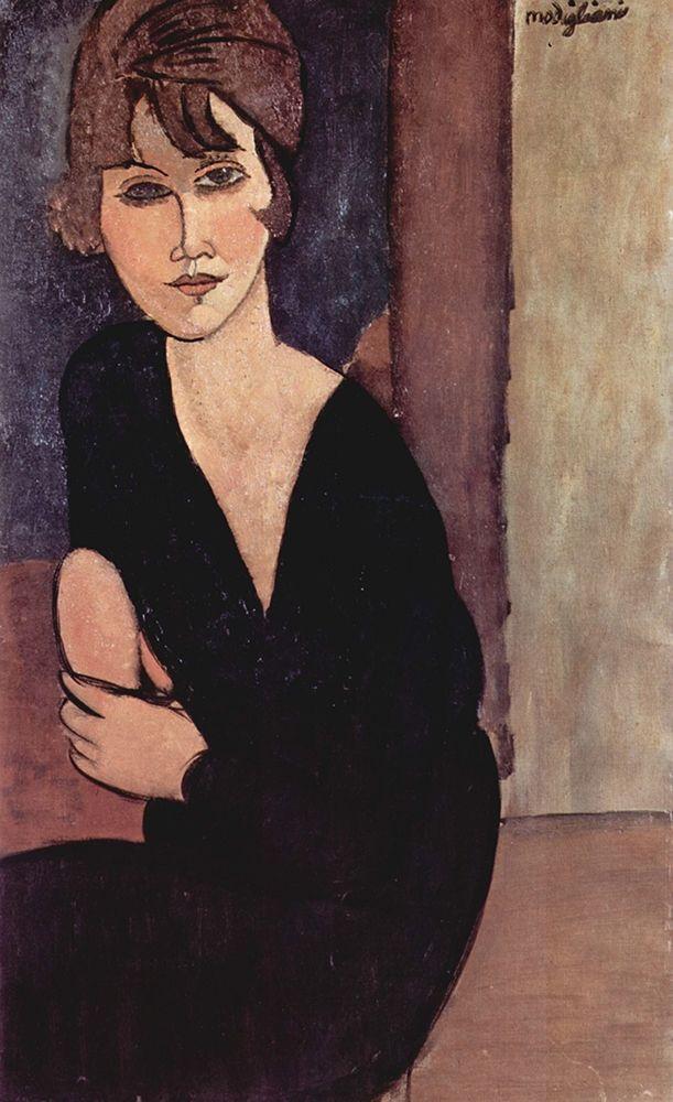konfigurieren des Kunstdrucks in Wunschgröße Portrait of Madame Reynouard von Modigliani, Amedeo
