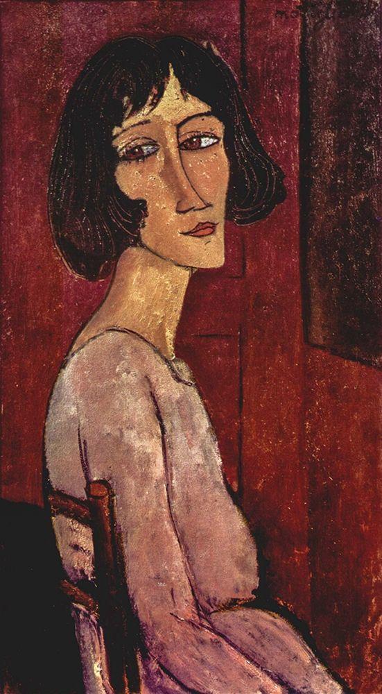 konfigurieren des Kunstdrucks in Wunschgröße Marguerite von Modigliani, Amedeo