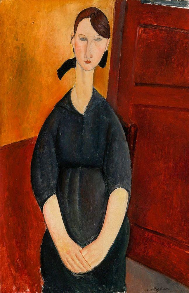 konfigurieren des Kunstdrucks in Wunschgröße Portrait of Paulette Jourdain, 1919 von Modigliani, Amedeo