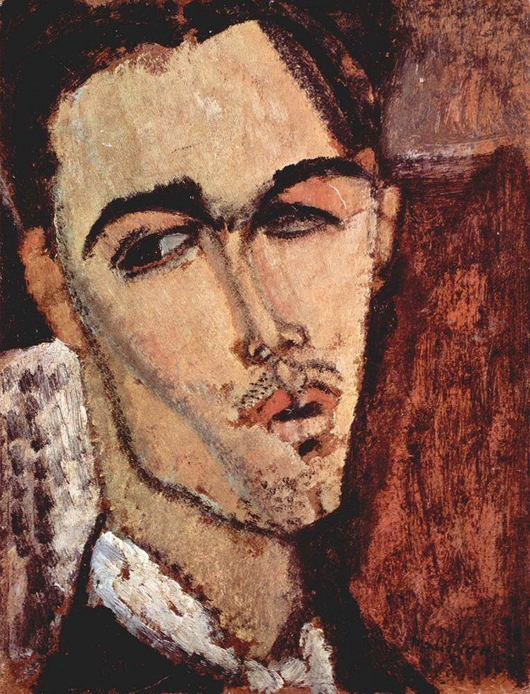 konfigurieren des Kunstdrucks in Wunschgröße Portrait of Celso Lagar von Modigliani, Amedeo