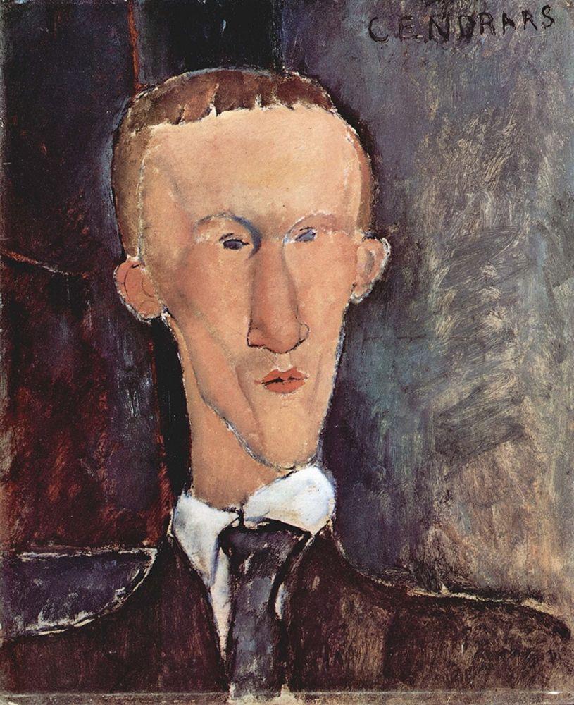 konfigurieren des Kunstdrucks in Wunschgröße Portrait of Blaise Cendrars von Modigliani, Amedeo
