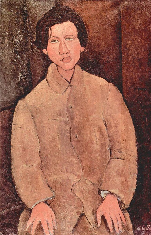 konfigurieren des Kunstdrucks in Wunschgröße Chaim Soutine, 1916 von Modigliani, Amedeo