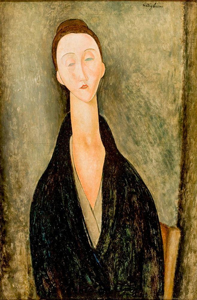 konfigurieren des Kunstdrucks in Wunschgröße Portrait of Hanka Zborowska von Modigliani, Amedeo
