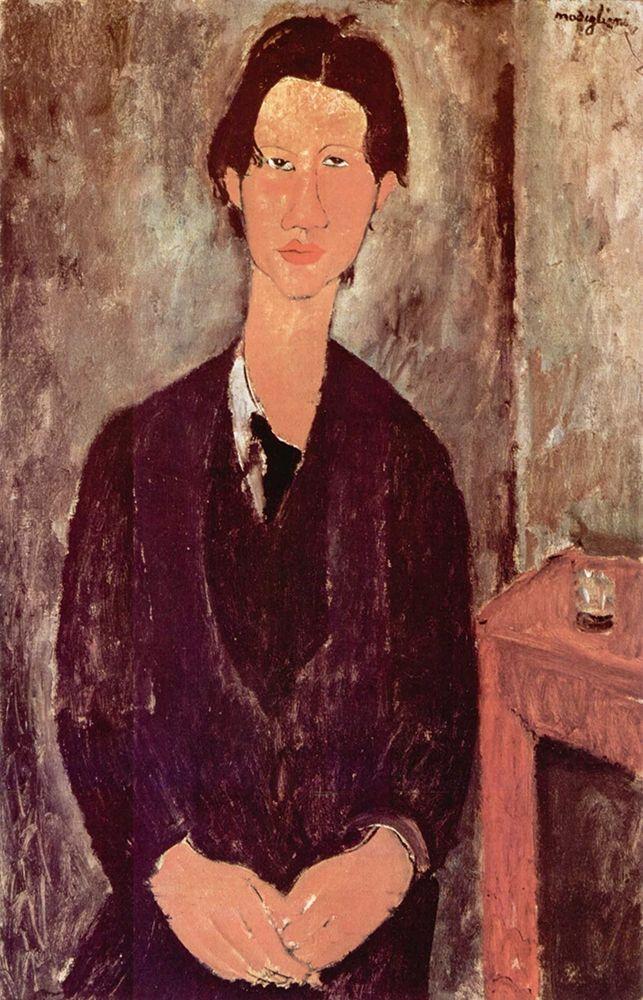 konfigurieren des Kunstdrucks in Wunschgröße Portrait of Chaim Soutine von Modigliani, Amedeo