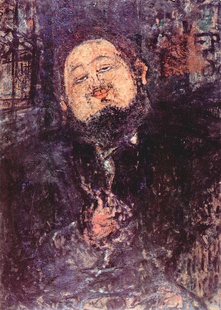 konfigurieren des Kunstdrucks in Wunschgröße Portrait of Diego Rivera von Modigliani, Amedeo
