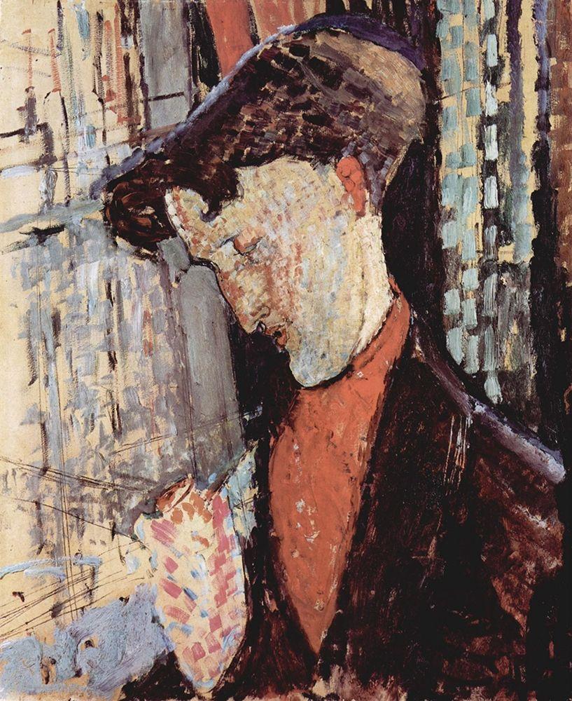 konfigurieren des Kunstdrucks in Wunschgröße Portrait of Frank Burty Haviland von Modigliani, Amedeo