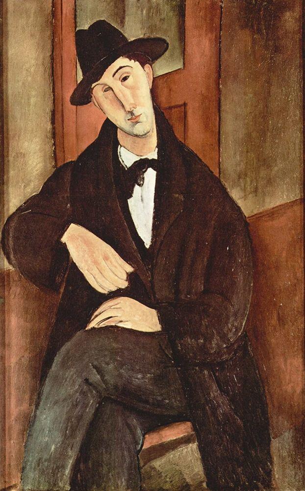 konfigurieren des Kunstdrucks in Wunschgröße Portrait of Mario Varfogli, 1919 von Modigliani, Amedeo