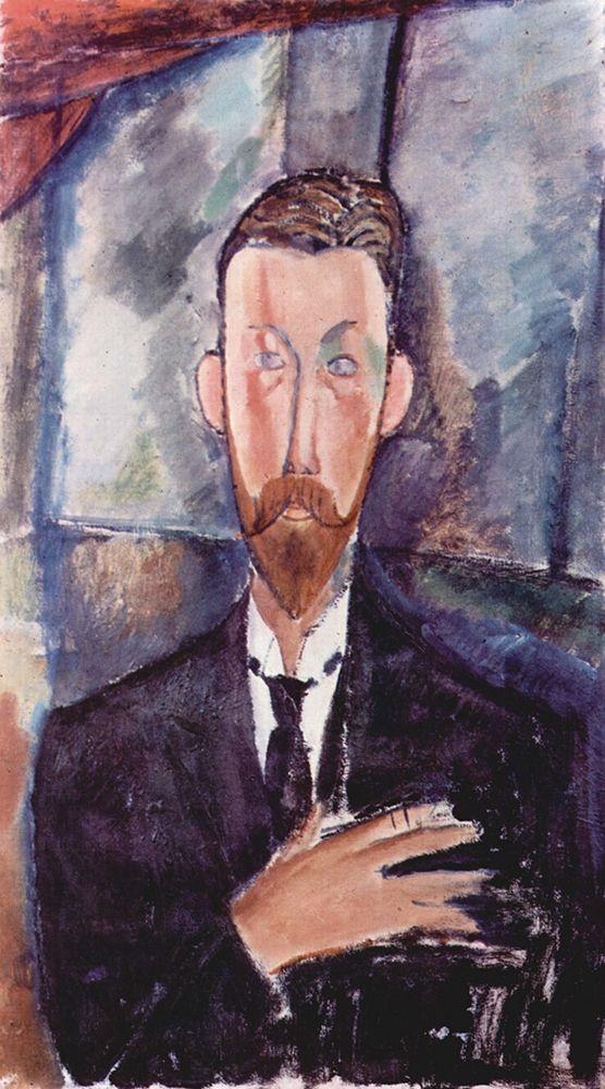 konfigurieren des Kunstdrucks in Wunschgröße Portrait of Paul Alexander seated von Modigliani, Amedeo