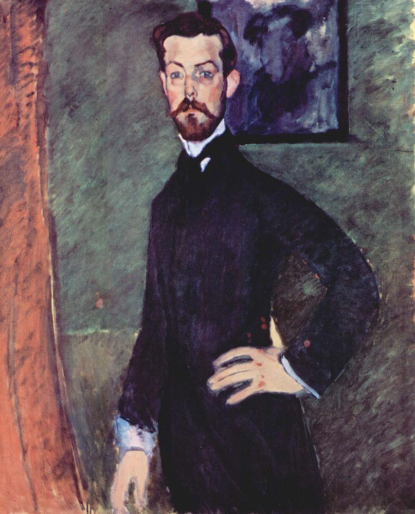 konfigurieren des Kunstdrucks in Wunschgröße Portrait of Paul Alexander standing von Modigliani, Amedeo