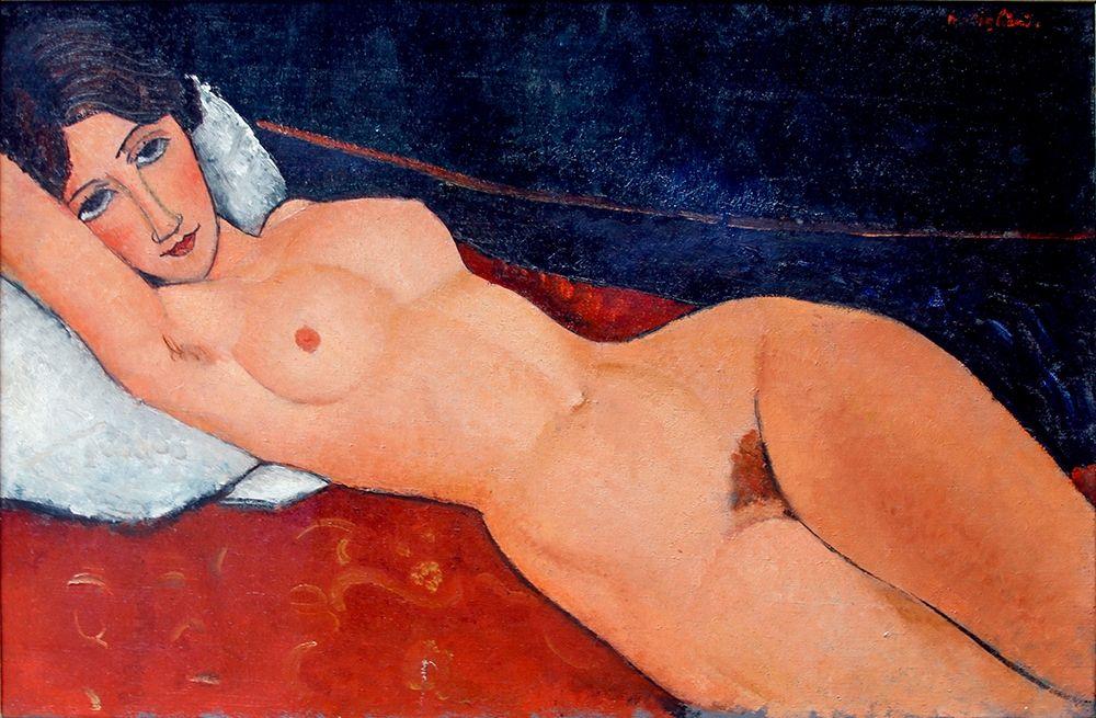 konfigurieren des Kunstdrucks in Wunschgröße Staatsgalerie - Stuttgart von Modigliani, Amedeo