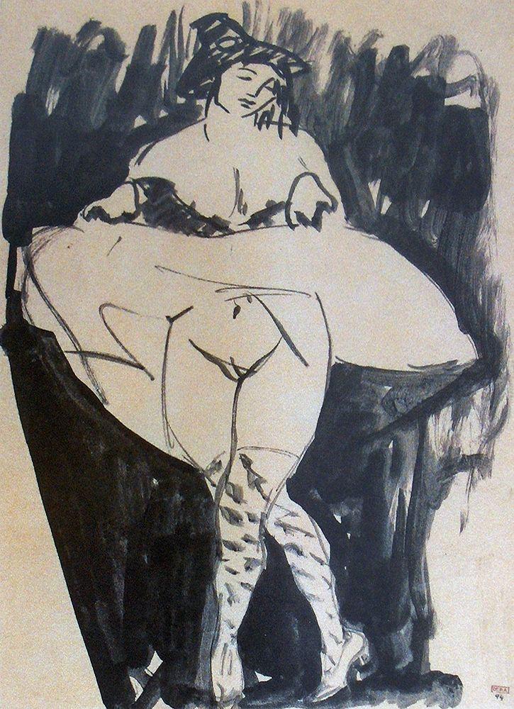 konfigurieren des Kunstdrucks in Wunschgröße Dancer von Modigliani, Amedeo