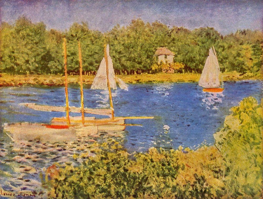 konfigurieren des Kunstdrucks in Wunschgröße Seine at Argenteuil von Monet, Claude