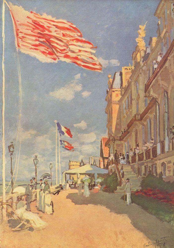 konfigurieren des Kunstdrucks in Wunschgröße Hotel Des Roches Noires┬áin Trouville von Monet, Claude
