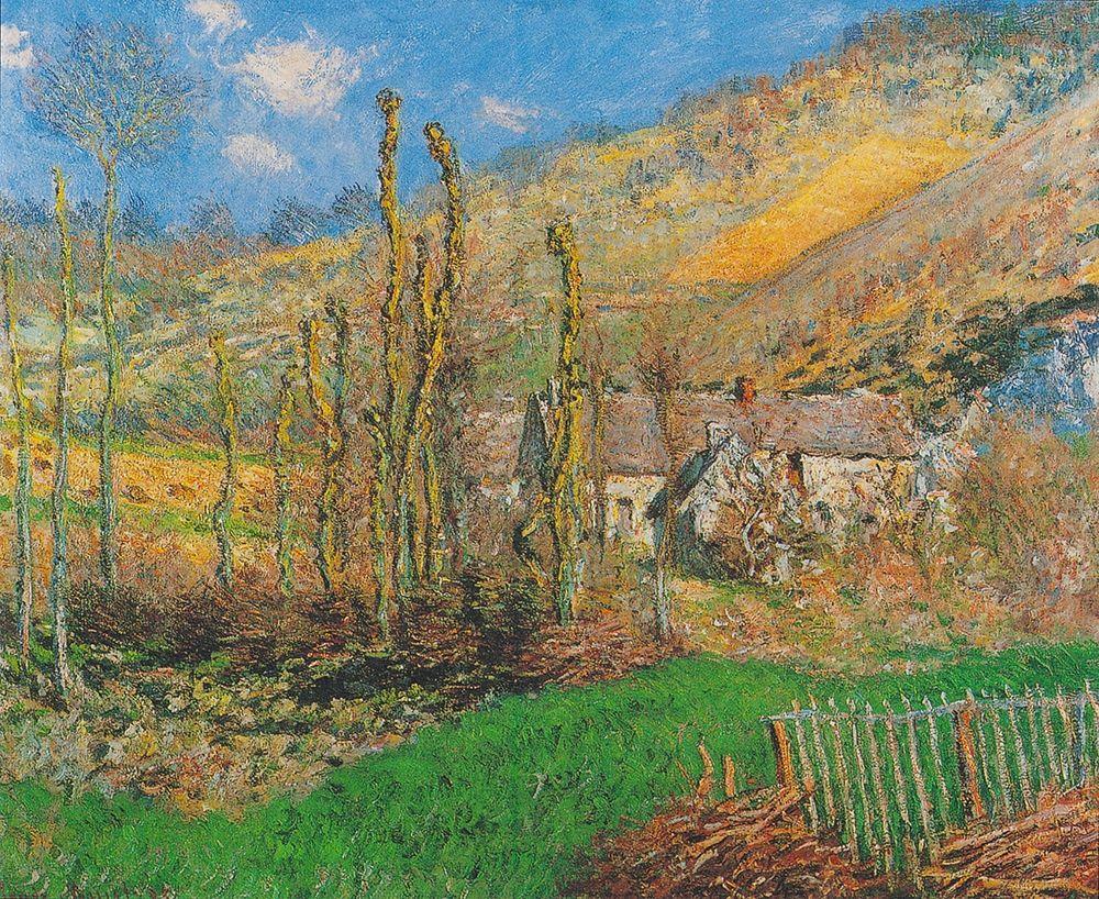 konfigurieren des Kunstdrucks in Wunschgröße Winter Landscape at the Val de Falaise (Giverny) von Monet, Claude