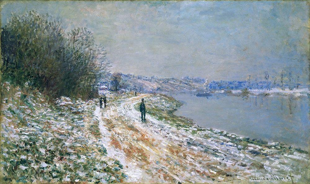 konfigurieren des Kunstdrucks in Wunschgröße Chemin de hallage ├á Argenteuil von Monet, Claude