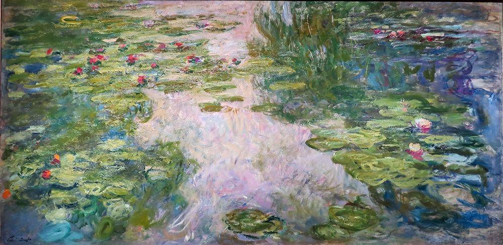 konfigurieren des Kunstdrucks in Wunschgröße Waterlillies von Monet, Claude