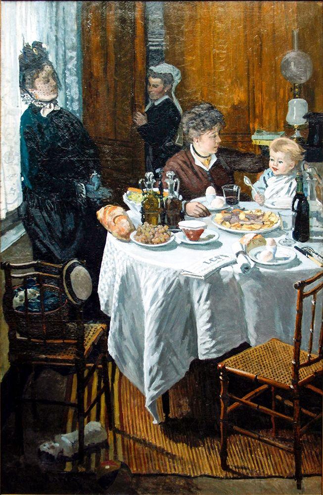 konfigurieren des Kunstdrucks in Wunschgröße The Luncheon (1868) von Monet, Claude