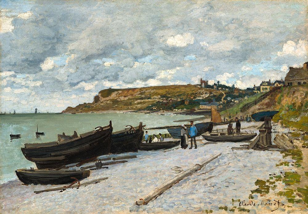 konfigurieren des Kunstdrucks in Wunschgröße Sainte-Adresse von Monet, Claude