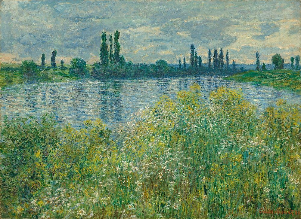 konfigurieren des Kunstdrucks in Wunschgröße Banks of the Seine, V├®theuil von Monet, Claude