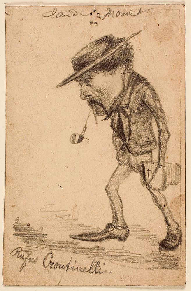 konfigurieren des Kunstdrucks in Wunschgröße Caricature of Henri Cassinelli (ÔÇ£Rufus CroutinelliÔÇØ) von Monet, Claude