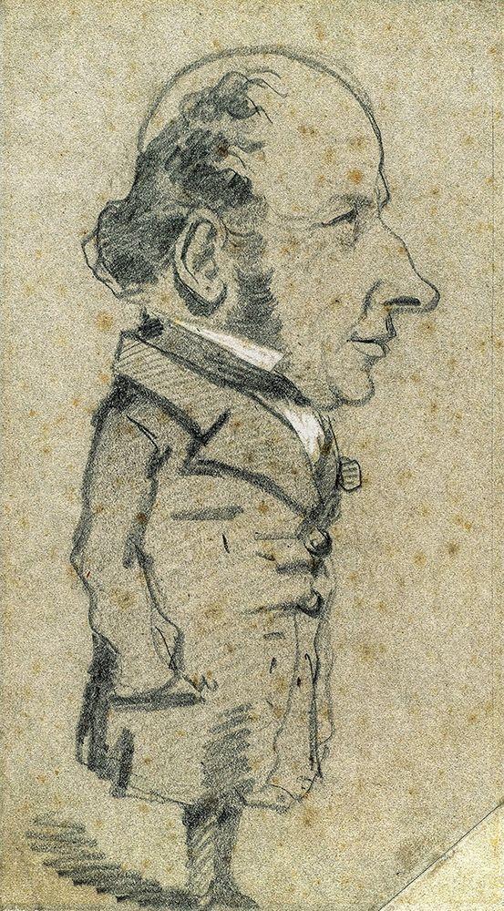 konfigurieren des Kunstdrucks in Wunschgröße Caricature of Eug├¿ne Marcel von Monet, Claude