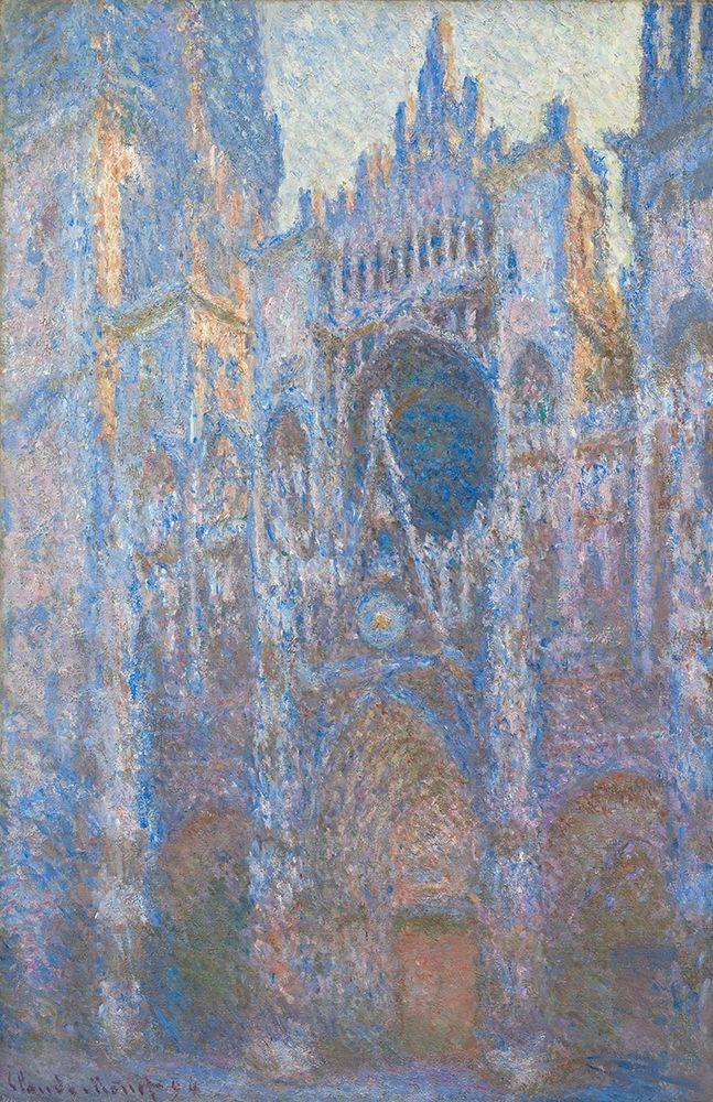 konfigurieren des Kunstdrucks in Wunschgröße Rouen Cathedral, West Fa├ºade von Monet, Claude