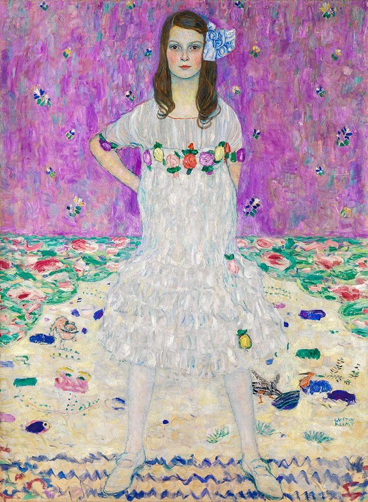 konfigurieren des Kunstdrucks in Wunschgröße Mada Primavesi von Klimt, Gustav