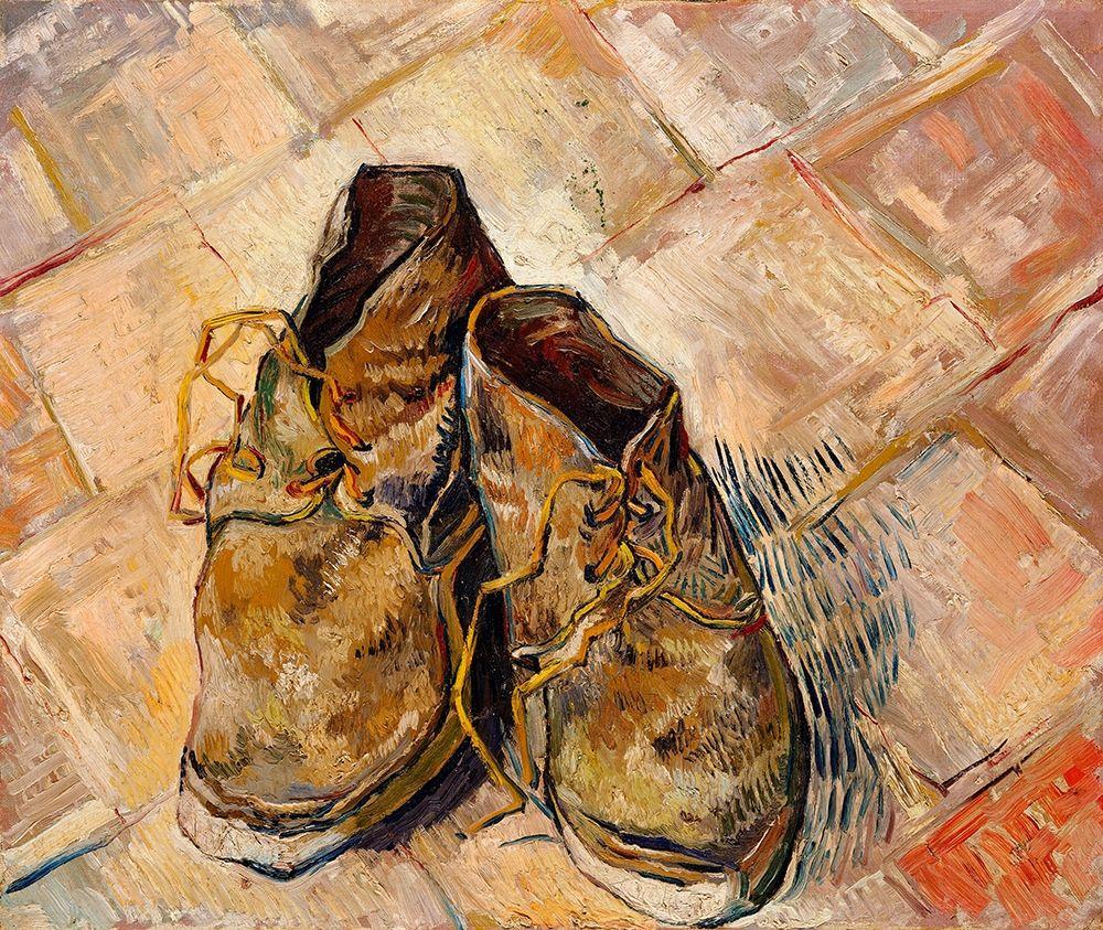 konfigurieren des Kunstdrucks in Wunschgröße Shoes (1888) von Van Gogh, Vincent