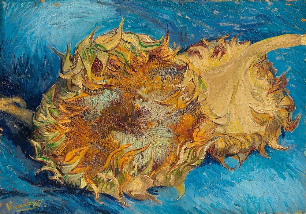 konfigurieren des Kunstdrucks in Wunschgröße Sunflowers (1887) von Van Gogh, Vincent