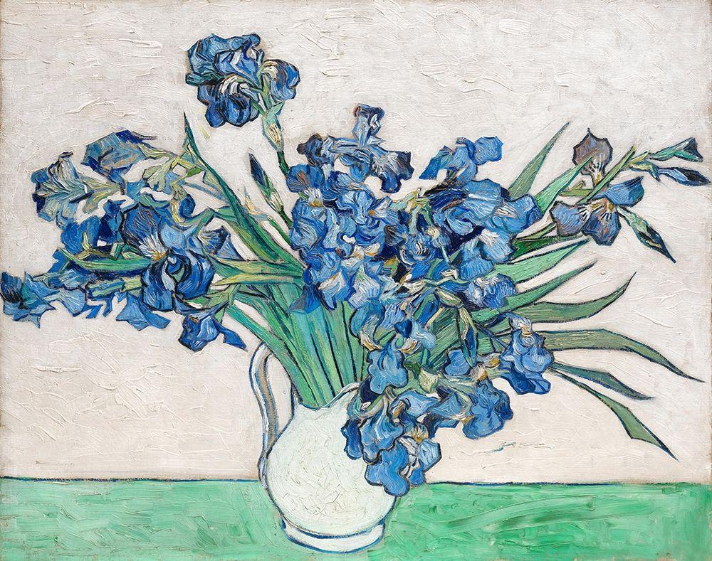 konfigurieren des Kunstdrucks in Wunschgröße Irises (1890) von Van Gogh, Vincent