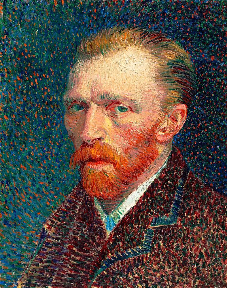 konfigurieren des Kunstdrucks in Wunschgröße Self-Portrait (1887) von Van Gogh, Vincent