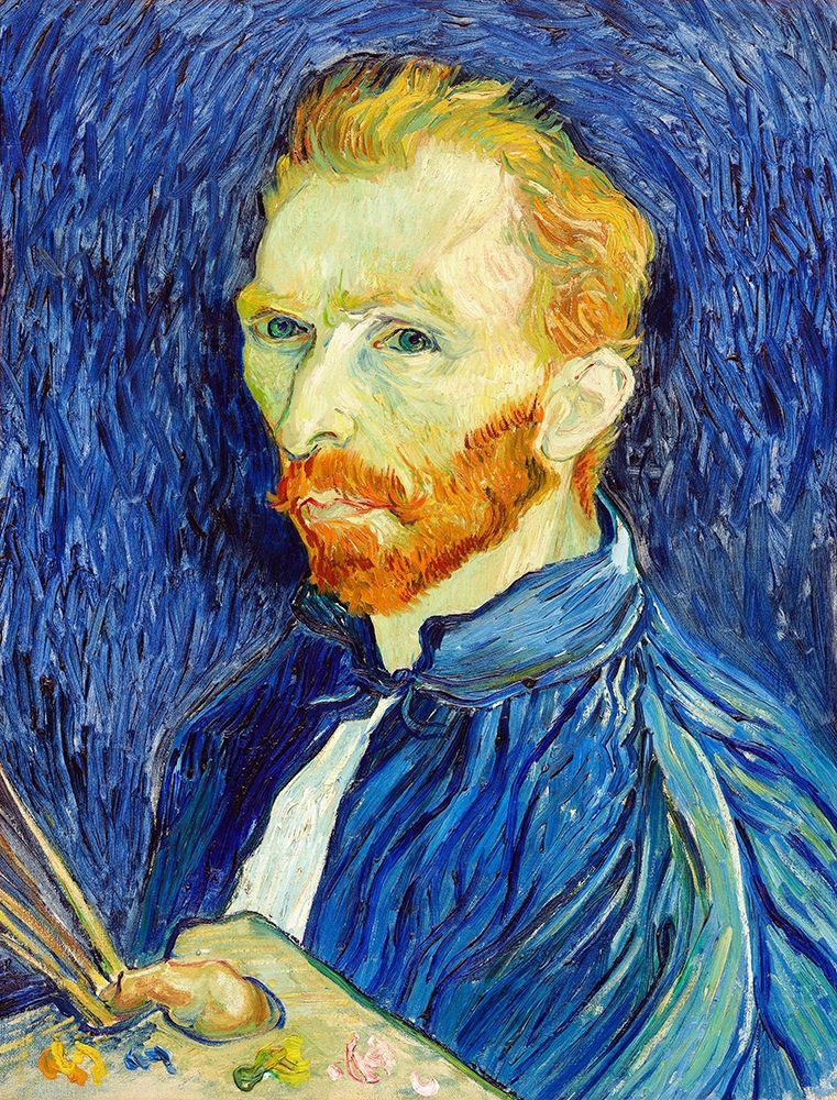 konfigurieren des Kunstdrucks in Wunschgröße Self-Portrait (1889) von Van Gogh, Vincent