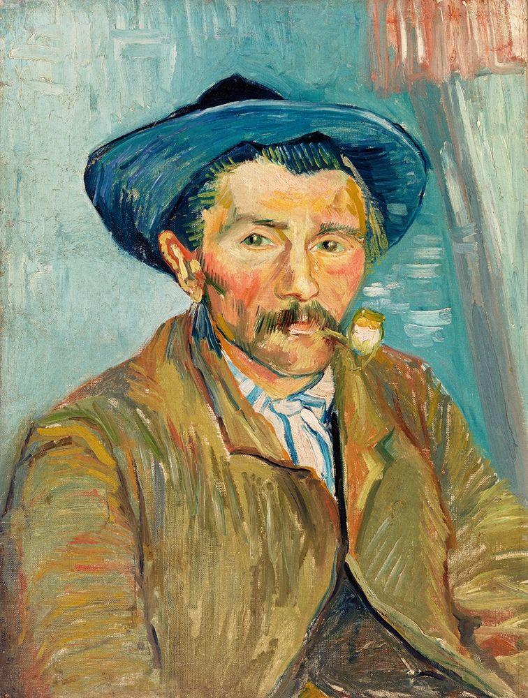 konfigurieren des Kunstdrucks in Wunschgröße The Smoker (Le Fumeur) (1888) von Van Gogh, Vincent