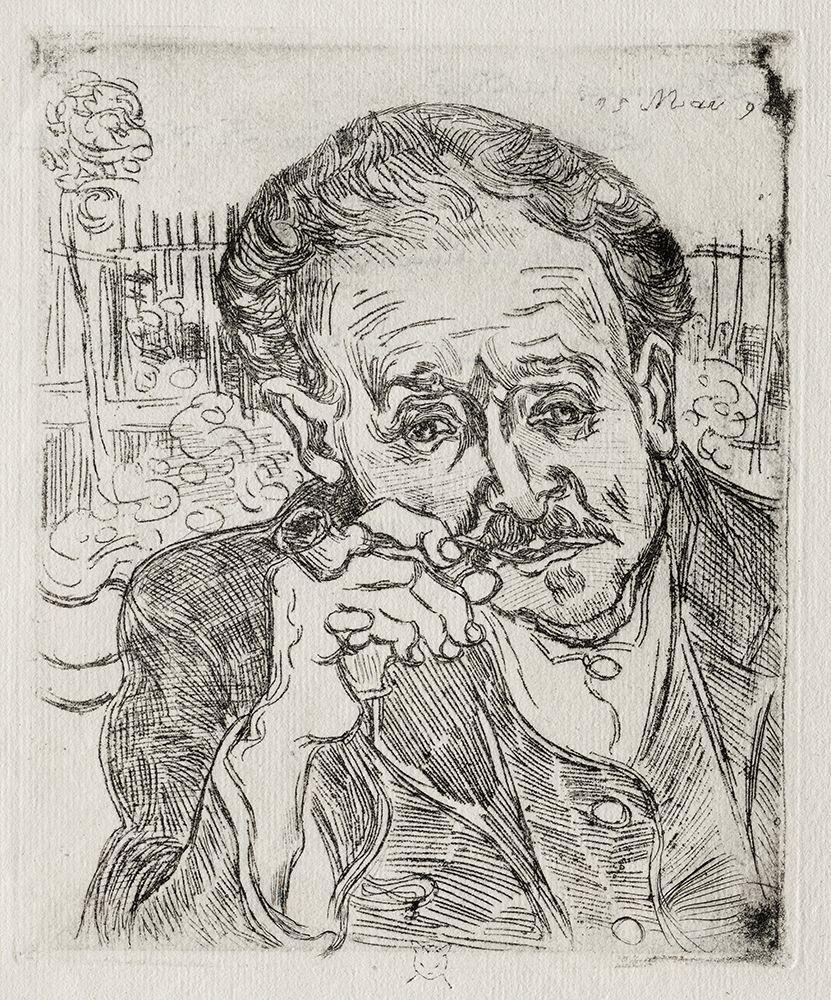 konfigurieren des Kunstdrucks in Wunschgröße Dr. Gachet (1890) von Van Gogh, Vincent